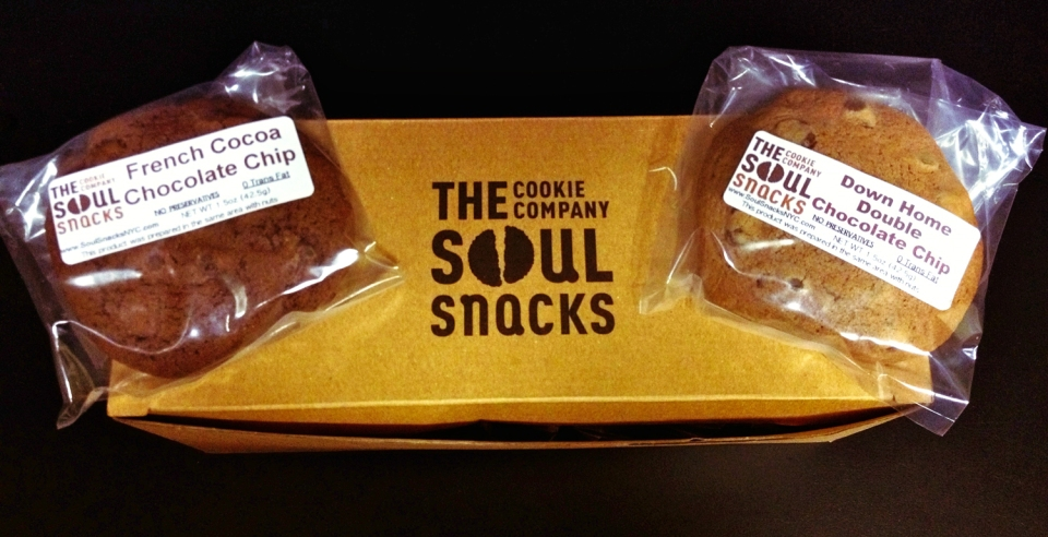 Yummy Soul Snacks cookies delivered right to my door!