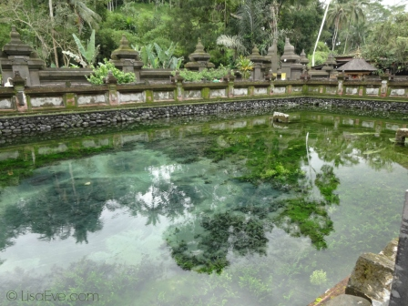 Would you like to cleanse yourself in the water of this Holy Pond? This is at Tirtha Empul...