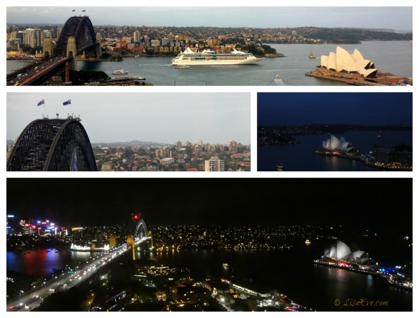 Sydney Harbour, Night & Day!